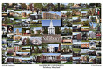Salisbury University Campus Art Print