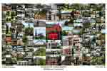 Wesleyan University Campus Art Print