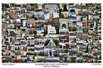 Washington State University Campus Art Print