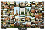 Amherst College Campus Art Print