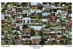 Campus Art Print Photo collage with school name below image