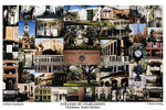 College of Charleston Campus Art Print