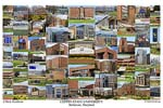 Coppin State University Campus Art Print