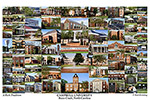 Campbell University Campus Art Print