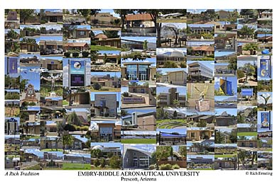 Embry-Riddle Aeronautical University, Prescott Campus Art Print