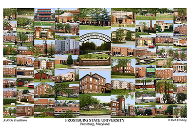 Frostburg State University Campus Art Prints Photos Posters