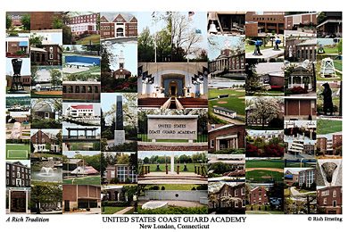 United States Coast Guard Academy Campus Art Print