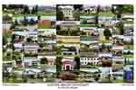 Eastern Oregon University Campus Art Print