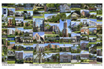 Eastern Connecticut State University Campus Art Print