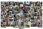 George Washington University Campus Art Print
