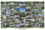 Grand Valley State University Campus Art Print