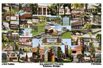 Kalamazoo College Campus Art Print