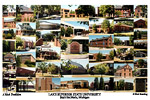 Lake Superior State University Campus Art Print