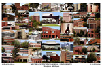 Michigan Technological University Campus Art Print