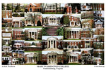 Mary Washington College Campus Art Print