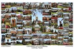 University of Lynchburg Campus Art Print