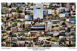 University of Memphis Campus Art Print