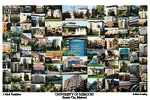 University of Missouri-Kansas City Campus Art Print