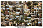 University of North Carolina Campus Art Print