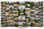 University of Rochester Campus Art Print