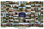 University of Wisconsin - Stout Campus Art Print