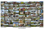 University of Massachusetts Lowell Campus Art Print