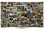 University of Cincinnati Campus Art Print