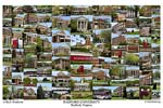 Radford University Campus Art Print