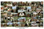 Randolph-Macon College Campus Art Print