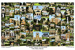 Saint Mary's College Campus Art Print