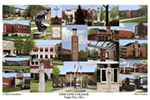 Ursuline College Campus Art Print