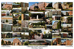Virginia State University Campus Art Print