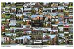 Western Oregon University Campus Art Print