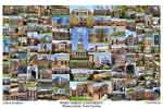 Wake Forest University Campus Art Print