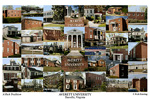 Averett University Campus Art Print