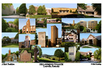 Bellarmine College Campus Art Print