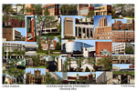 Cleveland State University Campus Art Print
